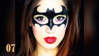 Gambar cover Divertido - 50 tutoriais de maquiagem de Halloween para mulheres # 1