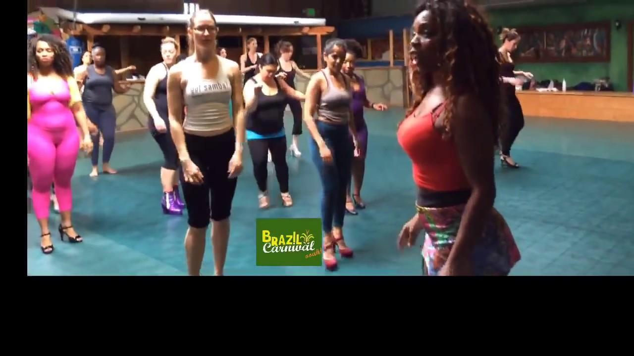 BRAZILIAN SAMBA DANCE TUTORIAL BY EGILI: HOW TO DANCE BRAZILIAN SAMBA STEP  BY STEP