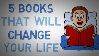 5 Books You MUST READ - Life Changing Book Recommendations (animated)