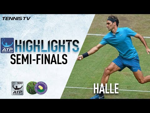 Highlights: Federer To Meet Coric For 10th Halle Crown