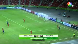 บอล เอเอฟเอฟ ซูซูกิ คัพ สิงคโปร์ 1-2 ไทย