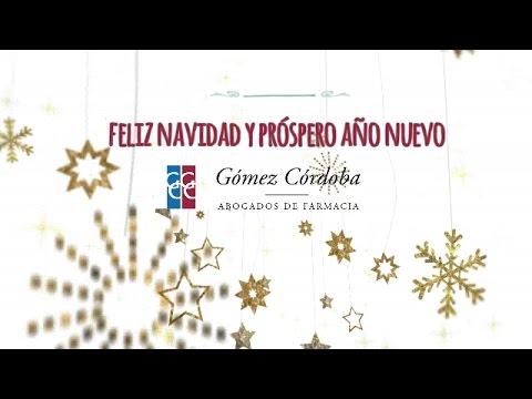 Feliz Navidad | Gómez Córdoba Abogados de Farmacia
