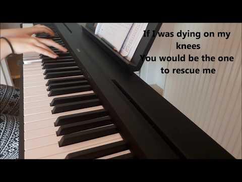 Brother - Kodaline (piano cover+lyrics)