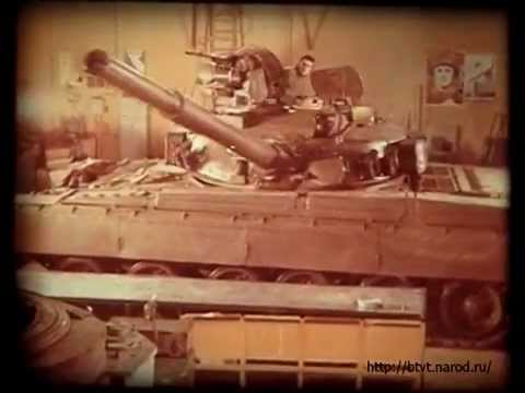 Видео про танк Т-80У (объект 219А) History Of T-80U MBT