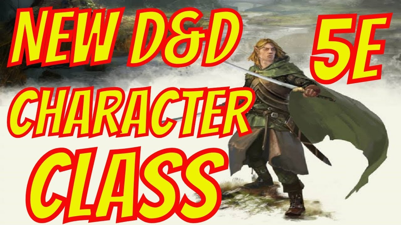 New 5e D&D Character Class- Mist Walker By Taking 20 Dungeons and