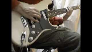 DEEP PURPLE - Rat Bat Blue (Guitar Cover)