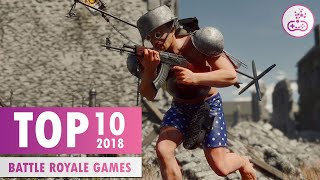TOP 10 BEST Battle Royale Games [2018 Releases Only] |  PS4/XB1/PC