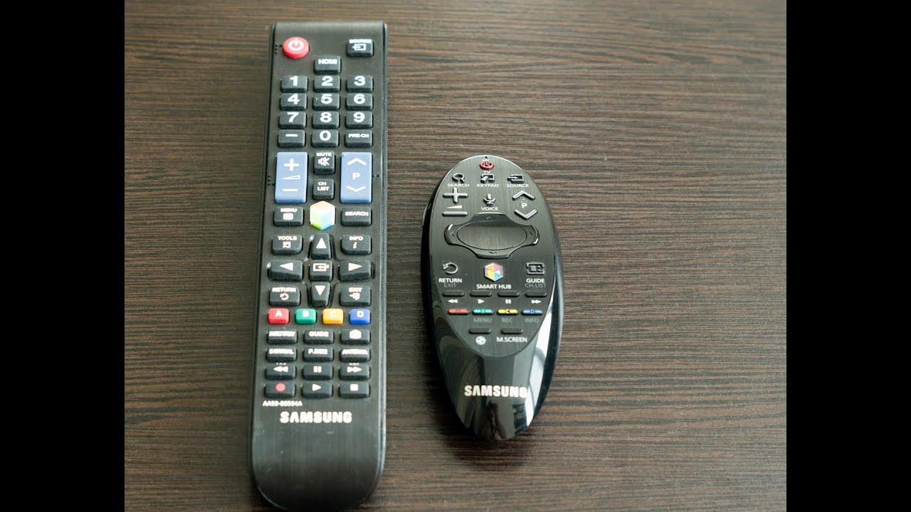 Пульты к телевизору самсунг