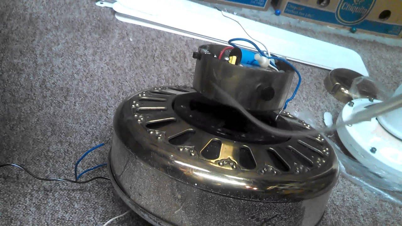 Lubricating Ceiling Fan : Oiling the bearings in a k type motor ceiling fan pre