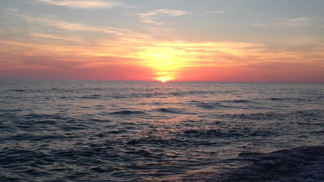 Video of a Sunset from our beach @Tina's Treasure's PCB ...