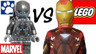 - ЛЕГО Железный Человек против Альтрона 76029. Распаковка ЛЕГО Супергерои LEGO Iron Man vs. Ultron