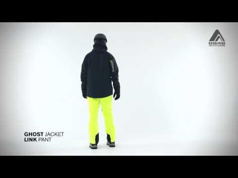 Мужская куртка GHOST (тёмная) и штаны LINK от 8848 Altitude
