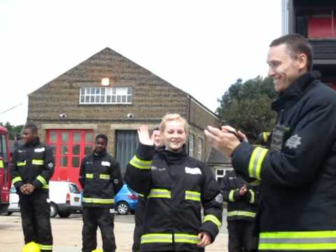 London Fire Brigade LIFE course for youth July 201...