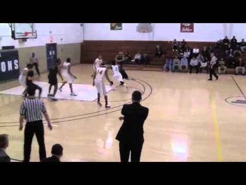 Fisher College vs Maine Machias - Tyler Shular #14 - 2016