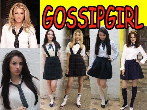 Gossip Girl Naryady V Shkolu V Stile Serena Blair Jenny Serial