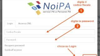 NoiPa, cedolino febbraio 2017: è online  Login, password, area riservata