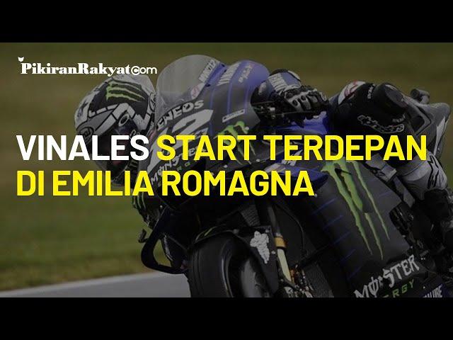 Jadi yang Tercepat di Kualifikasi, Maverick Vinales akan Start Terdepan di MotoGP Emilia Romagna