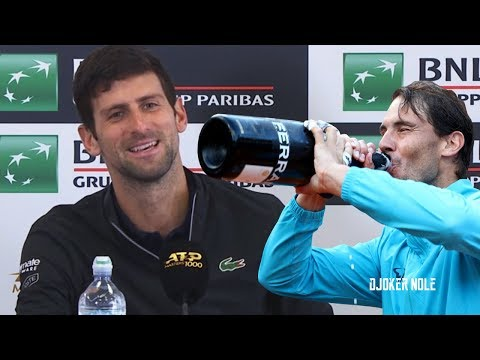 "Novak Djokovic ""Nadal was just too strong today"" - Rome 2019 (HD)"