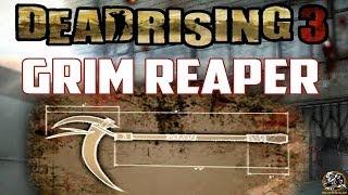 Dead Rising 3 - GRIM REAPER BLUEPRINT LOCATION (Super Combo Weapon Guide)