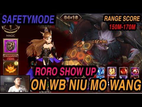 Seven Knights - RORO SHOW UP On World Bos Niu Mo Wang (Safety Mode)