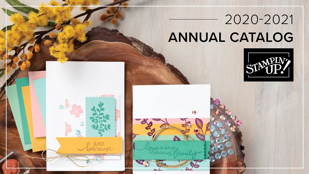 It's Here!  It's Here! The New 2020-2021 Annual Catalog Is Here!