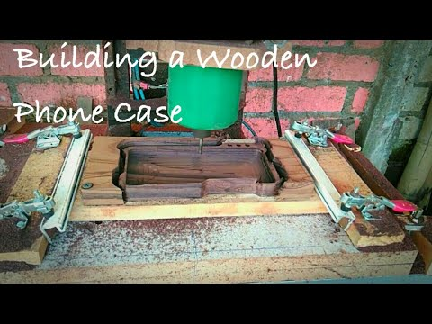 building a wooden phone case