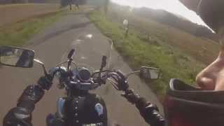 Yamaha Virago XV 535 full throttle