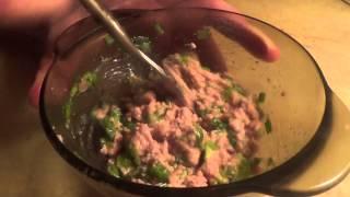 Салаты из печени трески. Часть 2. Картофельный салат