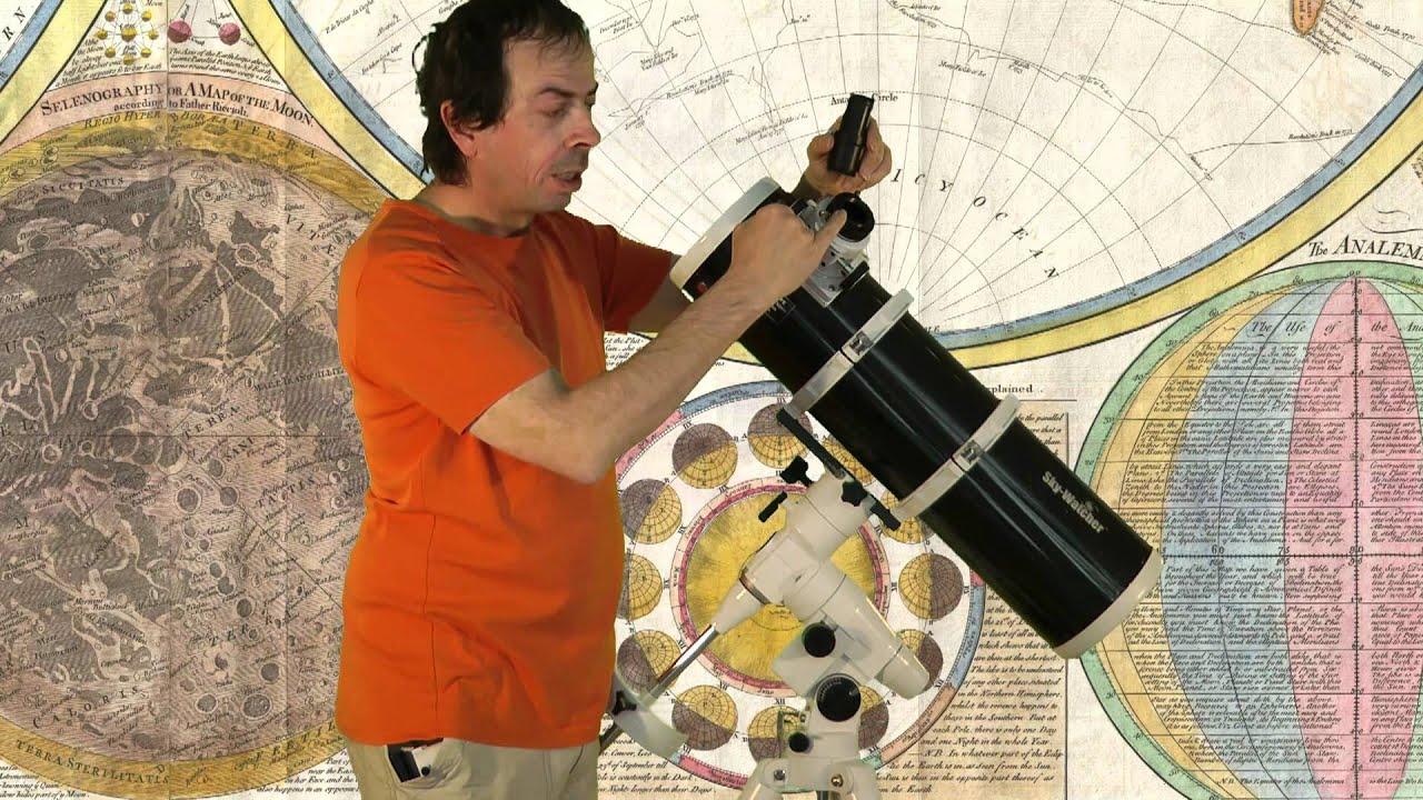 Skywatcher 150 750mm newton teleskop youtube