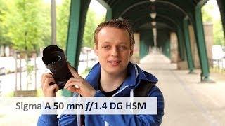 Sigma 50 mm f/1.4 DG HSM [Art] - Portrait-Objektiv der Oberklasse im Test [Deutsch]