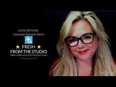 Alena Bethune  - Corporate Narration Demo