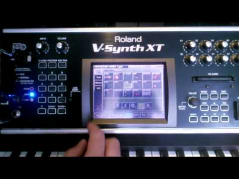 Screwing Fluttershy's voice on a Roland V-Synth (VariPhrase)