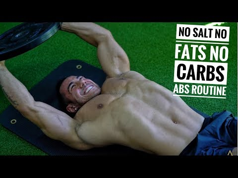 NO CARBS, NO FATS, NO SALT | ABS ROUTINE | DAY 2 CLEANSE