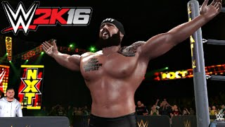 WWE 2K16 My Career - 2nd Match [PS4 Gameplay]