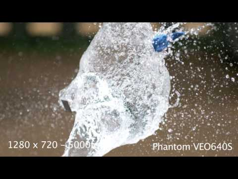 Download Youtube: First Look! - Phantom VEO640S - Water Balloons explode at 5000fps!