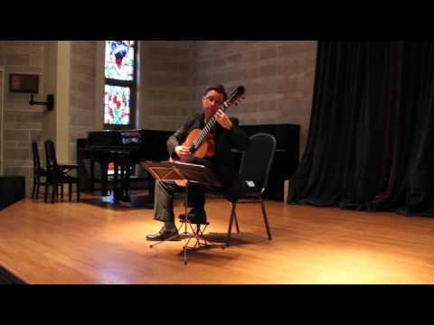 Bradford Werner Plays Adelita  Tárrega on Classical Guitar