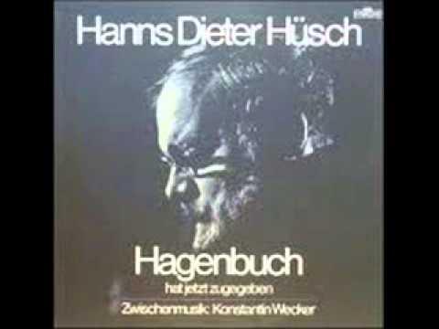 HANNS DIETER HÜSCH - Hagenbuch und die Schriftsteller