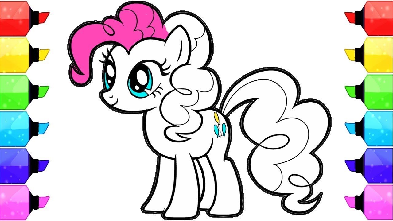 This is a picture of Hilaire Pony Coloring Picture