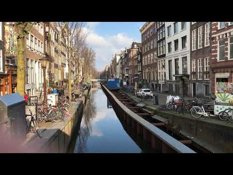 Werkzaamheden Red Light District / De Wallen / De Damstraatjes Amsterdam 5 februari 2018