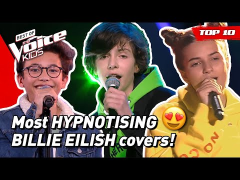TOP 10 | Would BILLIE EILISH Turn For These Young Singers In The Voice Kids?