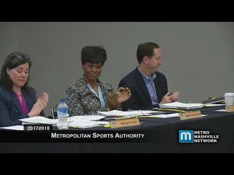 05/17/18 Sports Authority Meeting