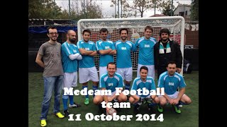 Medeam football team October 2014