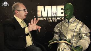 MEN IN BLACK 3 - Interview With Al The Alien (Barry Sonnenfeld And Daniele Rizzo)