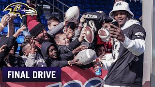 Final Drive: Lamar Jackson Is 'Startled' By Attention at Pro Bowl | Baltimore Ravens
