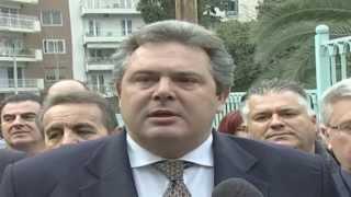 Δήλωση Πάνου Καμμένου κατά την επίσκεψή του στη Θεσσαλονίκη