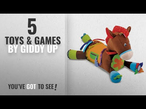 Top 10 Giddy Up Toys & Games [2018]: Melissa & Doug Giddy-Up And Play Baby Activity Toy -