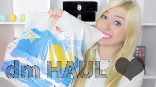 dm HAUL & XXL Verlosung ♥ Thumbnail