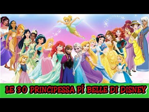 Le 30 Principessa Più Belle Di Disney