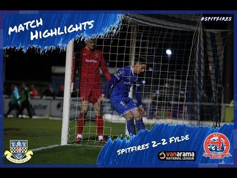 Eastleigh Fylde Goals And Highlights
