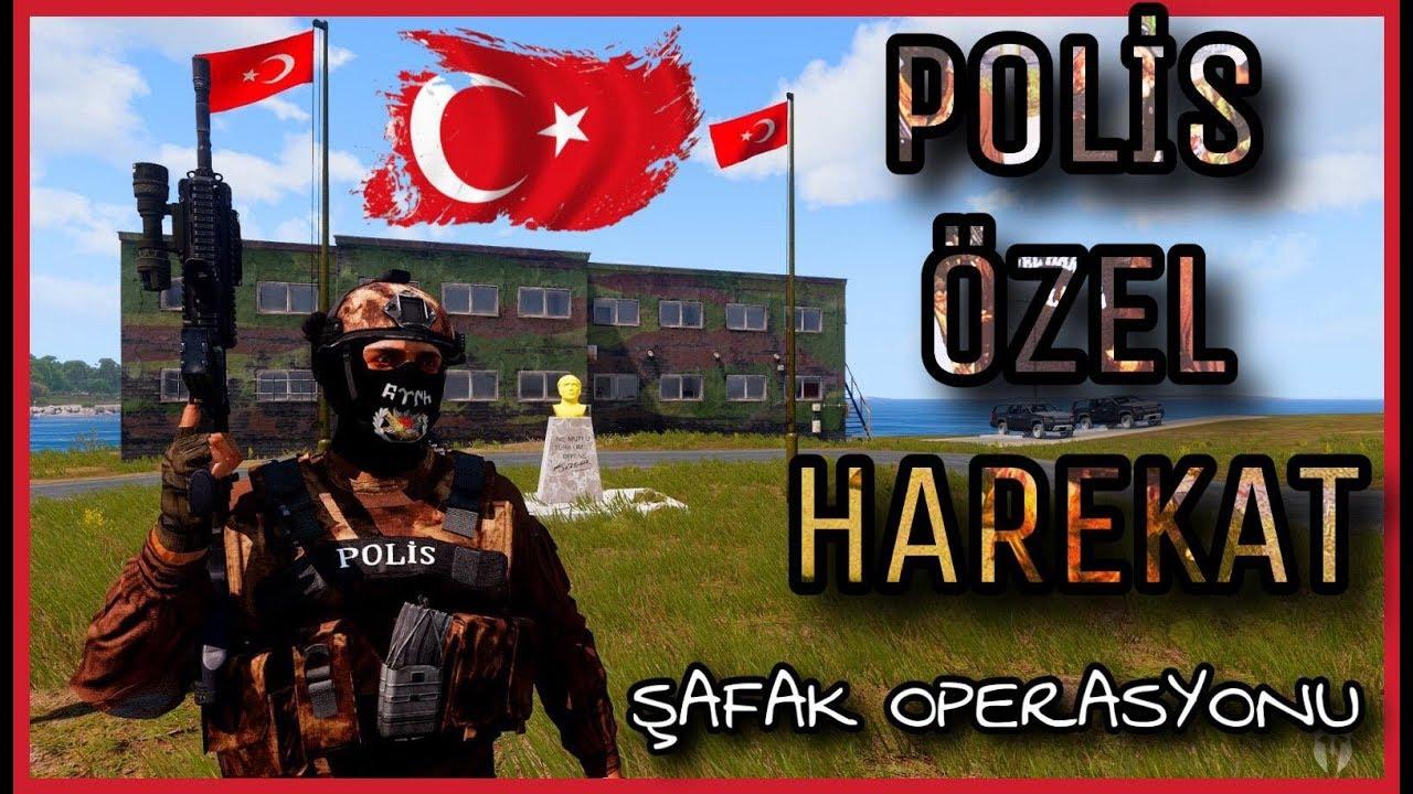 POLİS ÖZEL HAREKAT - ŞAFAK OPERASYONU - ARMA 3 -